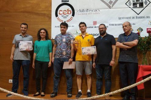 Campions Open Escacs Barberà 2019
